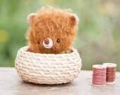 Teddy bear plushie  - made to order - Happy ilun -