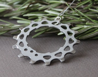 Bicycle Gear Holiday Ornament | Gear Ornament | Tree Ornament
