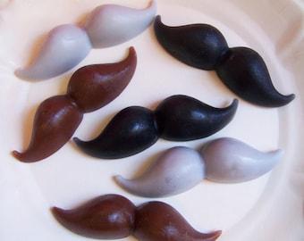 Mustache Soap Set - Gift For Him, Father's Day Soap, Baby Shower Favors, Soap Favors, Mini Soap, Dapper Soap, Soap For Men, Moustache Soap