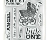 Cloud 9 Design Baby Rubber Stamps