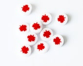 MAPLE LEAF 104 COE Murrini murrine millefiory for making beads