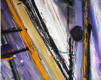 Wrecked, a mixed media artwork