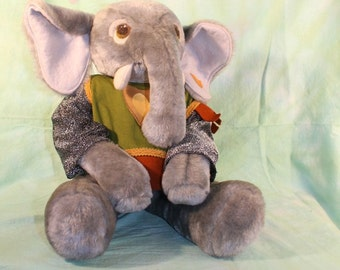 Knight Elephant, Stuffed Animal, Chivalry Friends