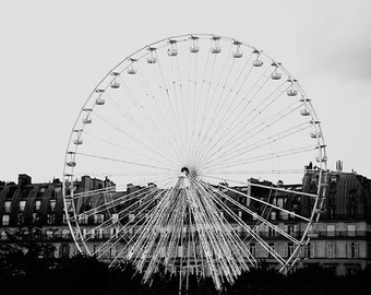 Midst  -   Paris Art Print, Paris Landscape Photography by Leigh Viner