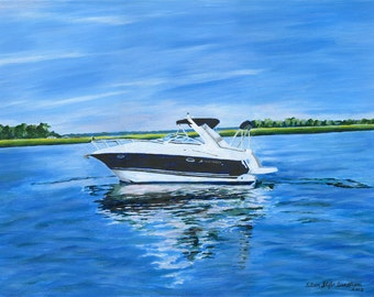 Custom Boat Portraits
