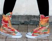Crochet PATTERN - crochet sneakers top vans