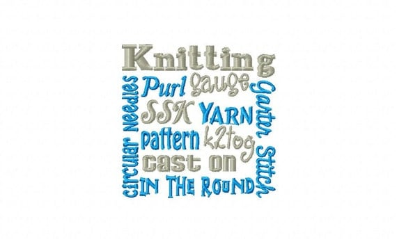 Knitting block embroidery machine design patterns sizes