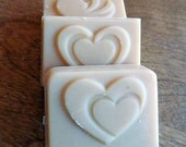 Custom Favor Soaps, Custom Wedding Favor, Custom Shower Favor, Wedding Favor, Party Favors, Heart Soaps, Made in Montana Soaps
