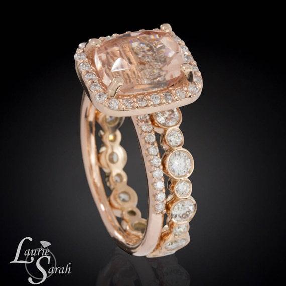 Diamond Eternity Wedding Band Bezel Set by LaurieSarahDesigns