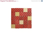 CIJ Sale - Vintage BRICK BLOCKS - Wood Building Blocks - Set of 25