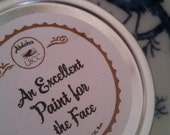 "18th Century "" An Excellent Paint For The Face""  1oz White- Historic Label"
