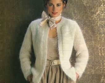 Vintage Ladies Jacket, Knitting Pattern, 1960 (PDF) Pattern, Sunbeam 629