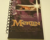 Merlin Upcycled Spiral Bound Notebook CLEARANCE