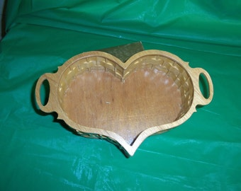 SALE!!!!  HEART  BASKET