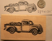 1938 Ford Vintage farm truck  rubber stamp P51