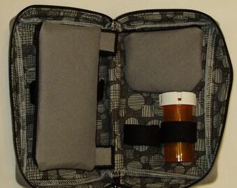 neutral grey Diabetic meter Case
