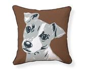 Jack Russell Terrier Pillow