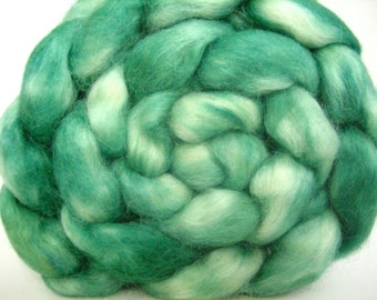 Hand dyed Wensleydale Wool Top 4 oz