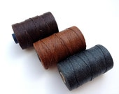 Irish Waxed Linen - 4 Ply - 50 Grams / 100 Yards - Custom Order Your Colors