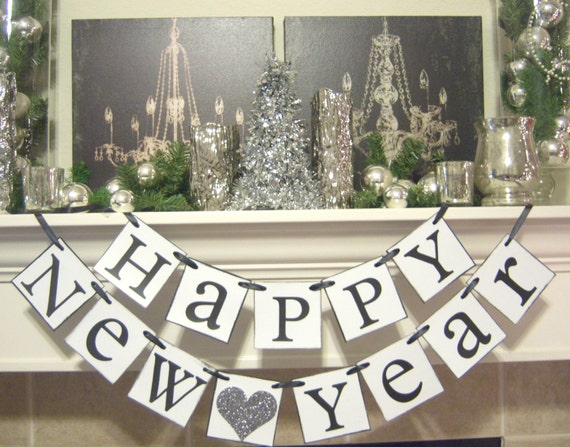 home decoration ideas for new year items similar to happy new year banner new years 13421