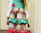 SALE sz 4T RTS Smoky Mountain Christmas dress