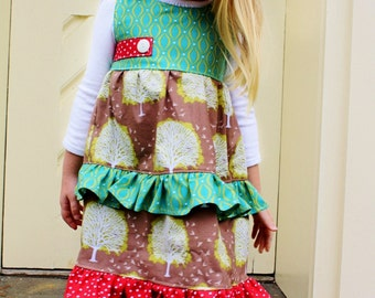 SALE sz 4T RTS Smoky Mountain Christmas dress