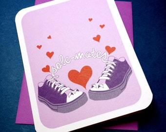 Solemates Love Sneaker Note Card