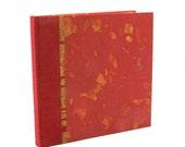 Photo Album Brick Mango Leaf- great for Weddings, Personalized Album, Scrapbook Album, Guest Books, Wedding Books, Scrapbooks