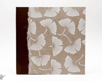 Photo Album Gingko Leaf - great for Wedding Photo Album, Birthdays, Showers and Scrapbook Album