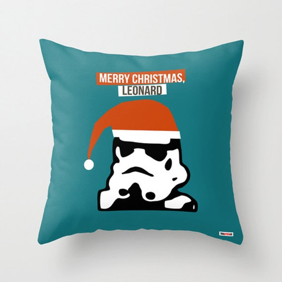 Photo Throw Pillow Gifts : Items similar to Star Wars throw pillow - Personalized christmas gift - Christmas pillow cover ...