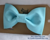 Turquoise Blue Bow Tie Dog Collar Bows Wedding Photography Pets Bows Cat Dogs Pet bowtie