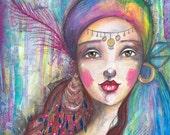 Summer Gypsy - Art Print