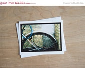Happy New Year SALE - Tiled Bike - 4.25x5.5 Greeting Card