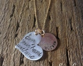 i carry your heart with me - Inspired by the beautiful poem by E E Cummings-Hand Stamped By Simag
