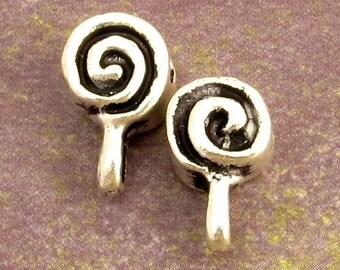 Mykonos Casting Spiral Bail, Antique Pewter, 2-Pieces M235