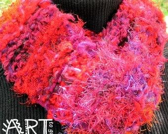 Gypsy Boho Sunset Sky Knit Scarf