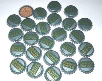 Vintage Bottle Caps with Cork Backs Quinine Carbonated Water Set of 25