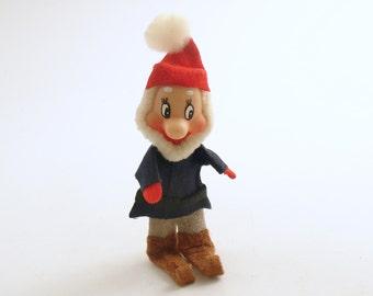 Vintage Christmas Decoration Elf Seven Dwarfs