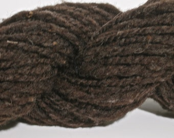 Handspun Wool Yarn - 58 yards Super Bulky Weight