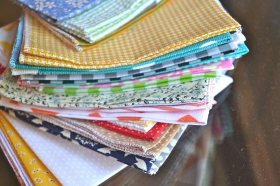 30 Bargain Cloth Napkin Bundles- you choose the size
