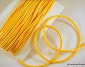 BOGO - 30ft Yellow Cording Waxed Cotton 2mm - 30 ft - STR9020CD-YW30 - Buy 1, Get 1 Free - No coupon required