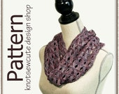 Cascading Cables Cowl - Crochet Pattern (PDF) - INSTANT DOWNLOAD