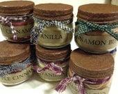 Primitive Jar Candle - Grubby Cinnamon Bun, Vanilla, Apple Cinnamon