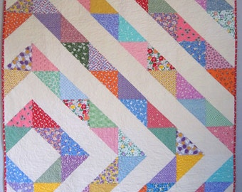 DREAMING Quilt from Quilts by Elena 1930's Reproduction Fabrics Ready to Ship