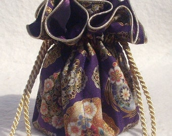 Plum Perfect Jewelry Pouch, Travel Organizer