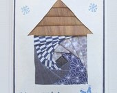 Handmade Holiday Card - Iris Folding House - Happy Holidays