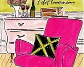Cheers to the Hot Pink Chair