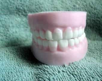 False Teeth Soap - Fake teeth, Dentist ,Party favor, Dental gift, Gag Gift