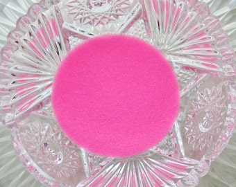 German GLASS GLITTER Neon Pink Extra Tiny  Microbeads No Hole 1 oz .40mm