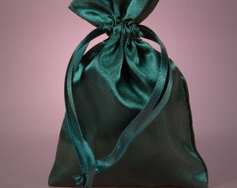 12 Pack  4 X 6  inch Satin Drawstring Bags Inch Size Great For Gifts, Favors, Sachets, Weddings